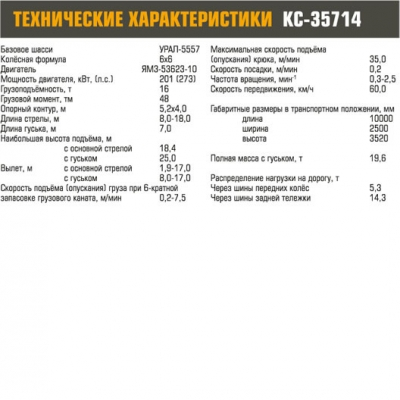 Автокран КС-35714