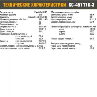 Автокран КС-45717К-3